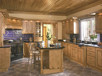 New wood kitchen